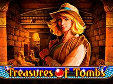 Автомат на реальные деньги Treasures Of Tombs