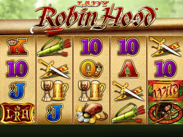 Игровой автомат Lady Robin Hood